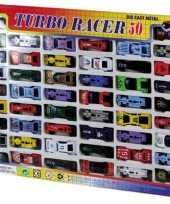 50x speelgoed auto set