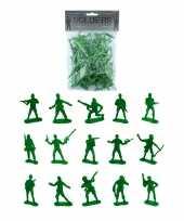 50x speelgoed soldaatjes soldaten figuren 3 5 7 cm