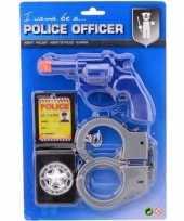 Complete politie speelgoed set voor jongens en meisjes