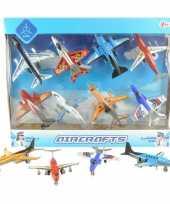 Kleine speelgoed vliegtuigjes