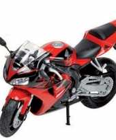 Model speelgoed motor honda cbr 1 18