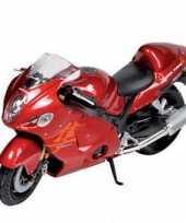 Model speelgoed motor suzuki 1 18