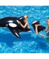 Opblaasbare orka 127 cm ride on speelgoed