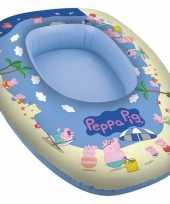 Peppa pig big opblaasbare boot 80 x 54 cm kids speelgoed