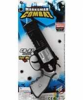 Politie militair speelgoed pistool 35 cm