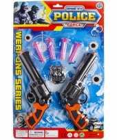 Politie speelgoed set 7 delig voor kinderen