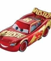 Rode speelgoed auto bliksem mcqueen uit cars 8 cm