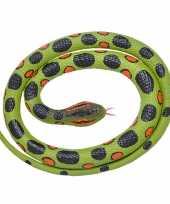 Rubberen speelgoed anaconda slang 117 cm