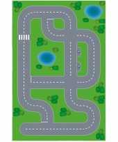 Speelgoed autowegen stratenplan wegplaten dorpje xl set karton