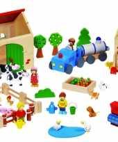 Speelgoed boerderij met dieren