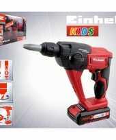 Speelgoed boorhamer breekhamer rood 22 cm