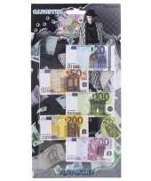 Speelgoed geld euro biljetten setje op headercard