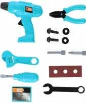 Speelgoed gereedschapset 13 delig voor jongens