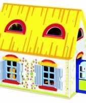 Speelgoed huis van hout