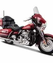 Speelgoed motor harley davidson electra glide 2013 1 18