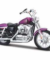 Speelgoed motor harley davidson xl1200v seventy two 2013 1 18