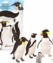 Speelgoed set met diverse pinguins