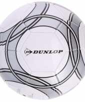 Speelgoed voetbal wit grijs 21 cm voor kinderen volwassenen