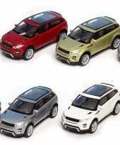 Speelgoed witte land range rover evoque auto 1 36