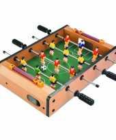 Tafelvoetbal spel 35 x 10 cm speelgoed