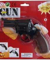Zwarte speelgoed verkleed evolver 8 schoten