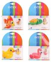 Zwembad speelgoed diertjes set 1