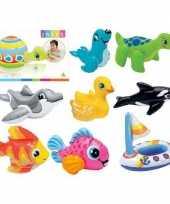 Zwembad speelgoed schildpad 20 cm